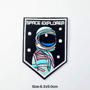 Accessories - Iron On Astronaut Space Explorer Embroidered Patch